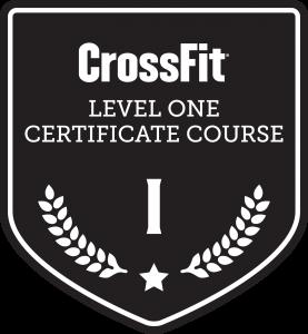 certificação nível 1 crossfit