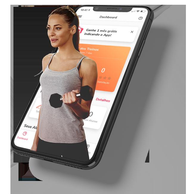 Aplicativo para Personal Trainer + Sistema Online de Gestão de Alunos e Treinos